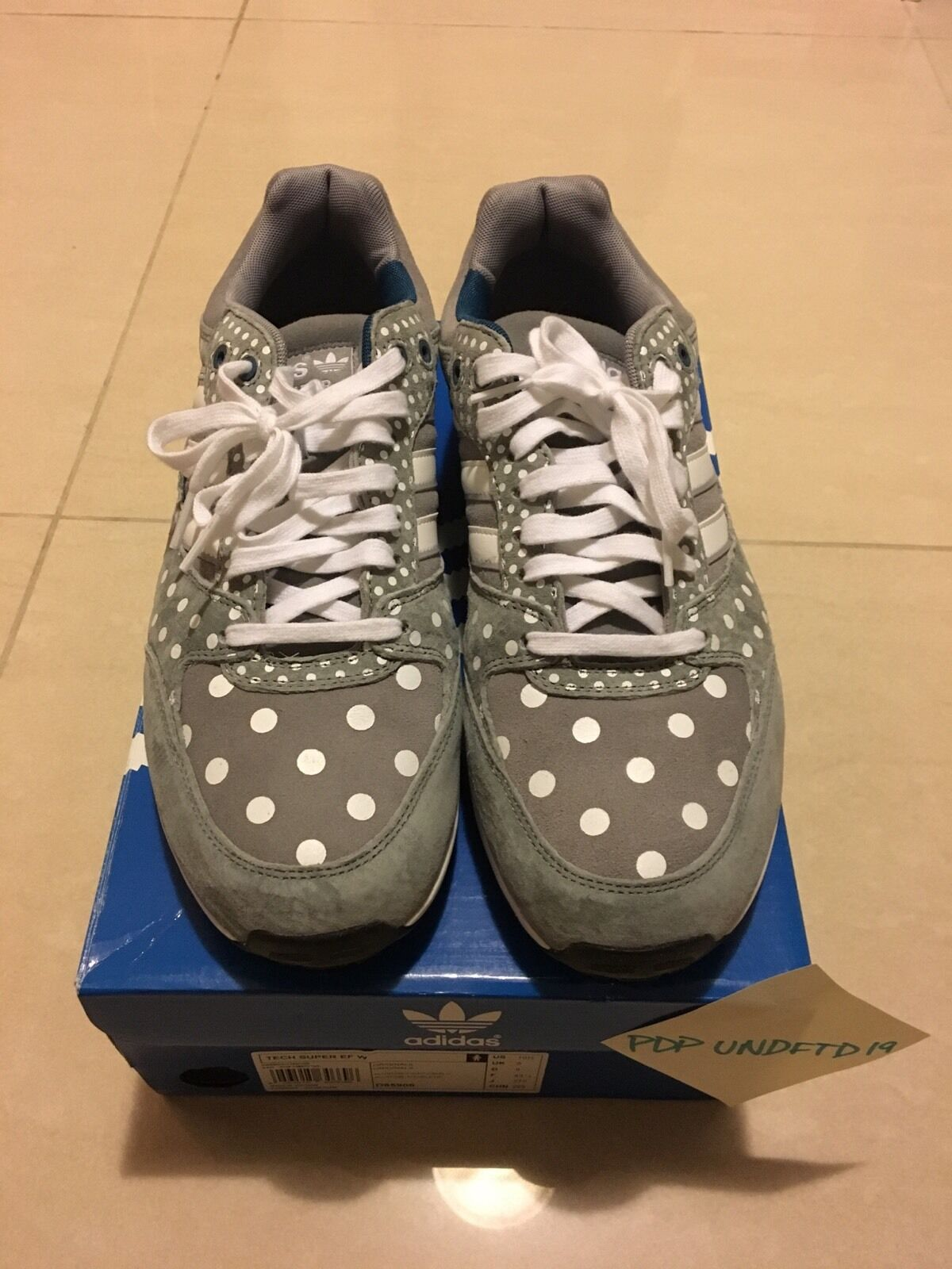 Adidas Tech Super Polka Dot size 10.5W 9.5M