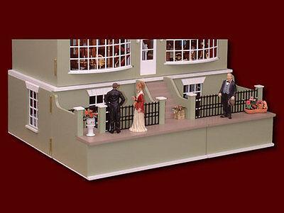 Antique Dolls House Basement 1 12, 32 X 12 Basement Window