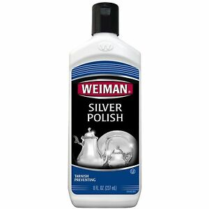 how to clean silver with household products