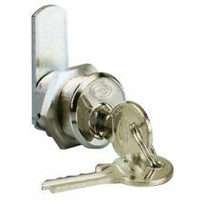 Serratura a Cilindro Cromata Universale Misura 25 mm  Ø 19 mm Corbin Art 202 CR