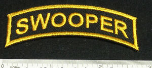 Set-of-2-SWOOPER-Patches-for-Skydiving-Parachute-Container-t-Shirt-Cap-Rig-25Q