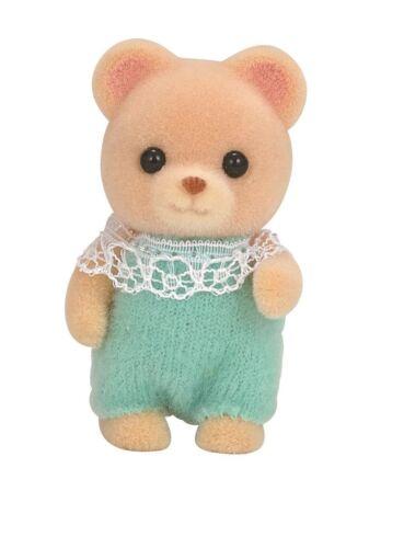 Baby Sylvanian Families dolls bear Epoch KU-68