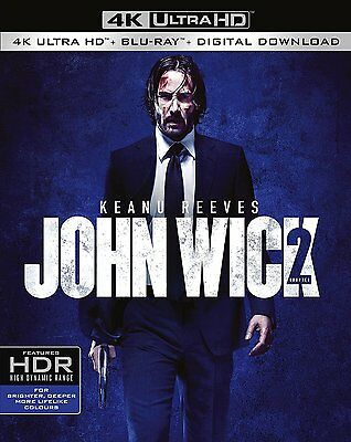 John Wick Chapter 2 4k Ultra Hd Blu Ray Digital Download 5051892209205 5051892209205 Ebay