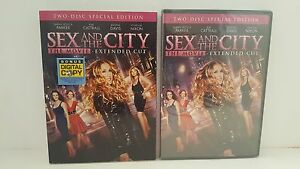 Sex-And-The-City-The-Movie-Extended-Cut-2-Disc-Brand-New-Sarah-Jessica-Parker