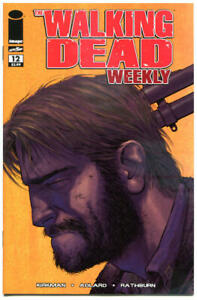 WALKING-DEAD-WEEKLY-12-NM-Zombies-Horror-Robert-Kirkman-2011-Brains-Flesh
