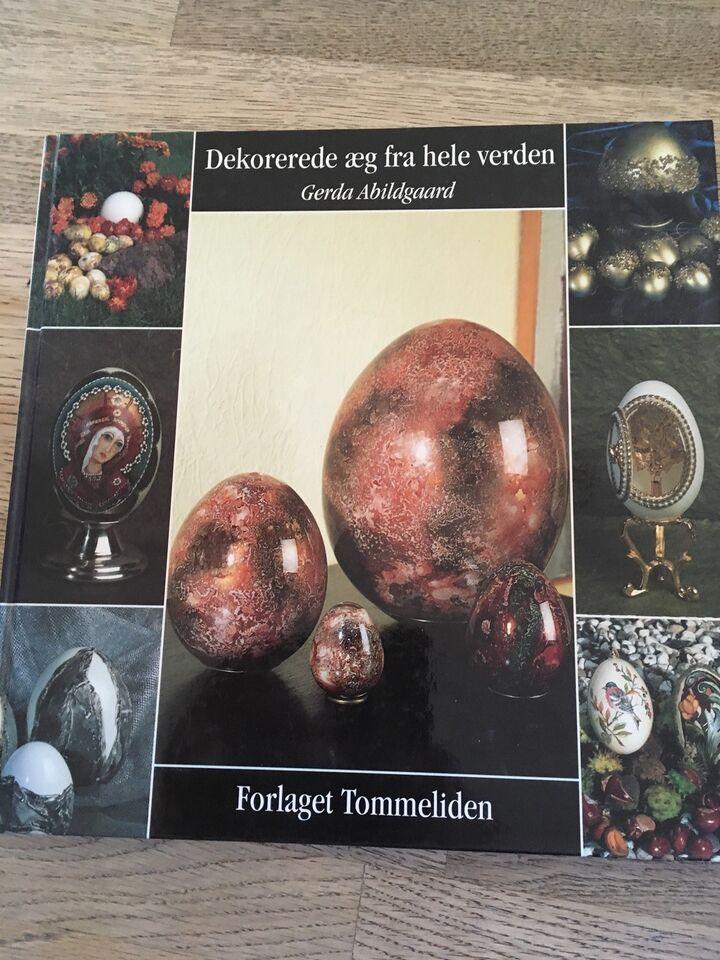 Dekorerede æg fra hele verden, Gerda Abildgaard , emne: