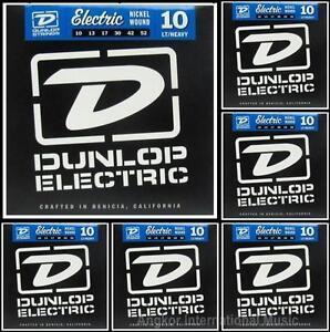 Dunlop DEN1052 Nickel Wound Electric Guitar Strings lt//heavy gauges 10-52