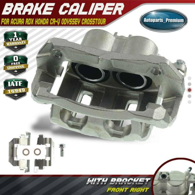 Brake Caliper W/ Bracket For Acura RDX Honda CR-V Odyssey