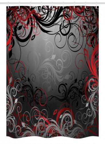 Ambesonne Stall Shower Curtain in 2 Sizes Bathroom Decor Polyester Fabric