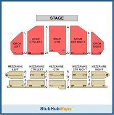 Hamilton Tickets (Los Angeles) orchestra center