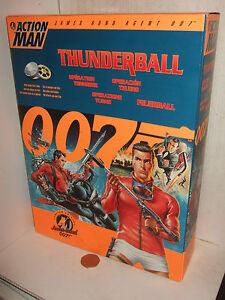 Hasbro Action Man Ltd, édition James Bond 007    dans Scuba Gear.   thunderball  5023117430824