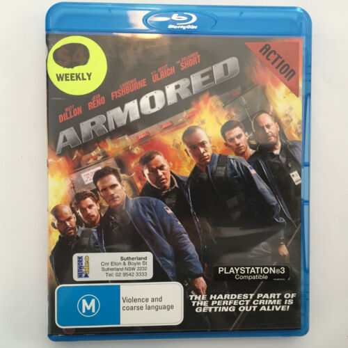 1 of 1 - Armored (Blu-ray, 2010) - NO CASE