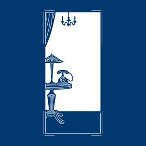 Dentelle en lambeaux ART déco téléphone /& TABLE Die TLD0272 Art Deco Collection classique