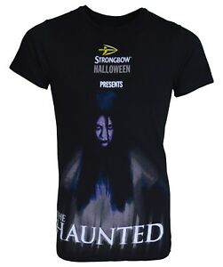 53b28ab1 Strongbow Halloween Presents The Haunted T-Shirt Men's Size Small | eBay