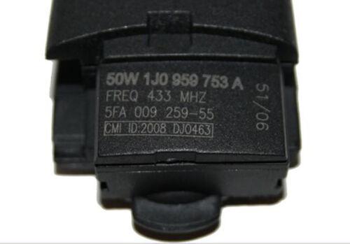 VW Seat chiave unità di trasmissione 2 tasti 1j0959753a 1j0 959 753 a 433,92mhz a16