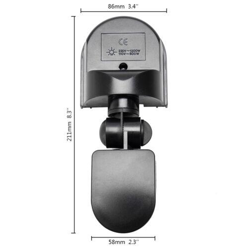 PIR-Bewegungsmelder-Detektorschalter für Sicherheitsbeleuchtung 180 ° Outdoor