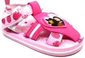 ARNETTA-MASHA-e-ORSO-sandali-mare-BIMBA-art-s17722-FUXIA-21-28-sandals-NUOVO