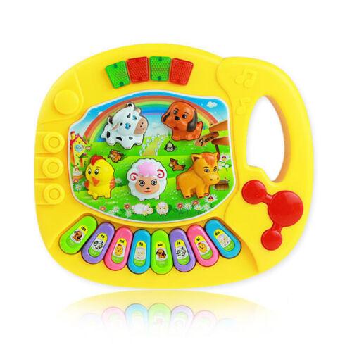 Baby Kids Musical Educational Piano Animal Farm Developmental Music Toys Gift