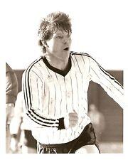 Original Press Photo Crusaders FC Davy Nixon May 1986