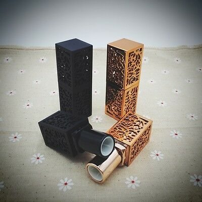 Empty High Grade Lipstick Containers Lip Balm Tubes Hollow-carved Style