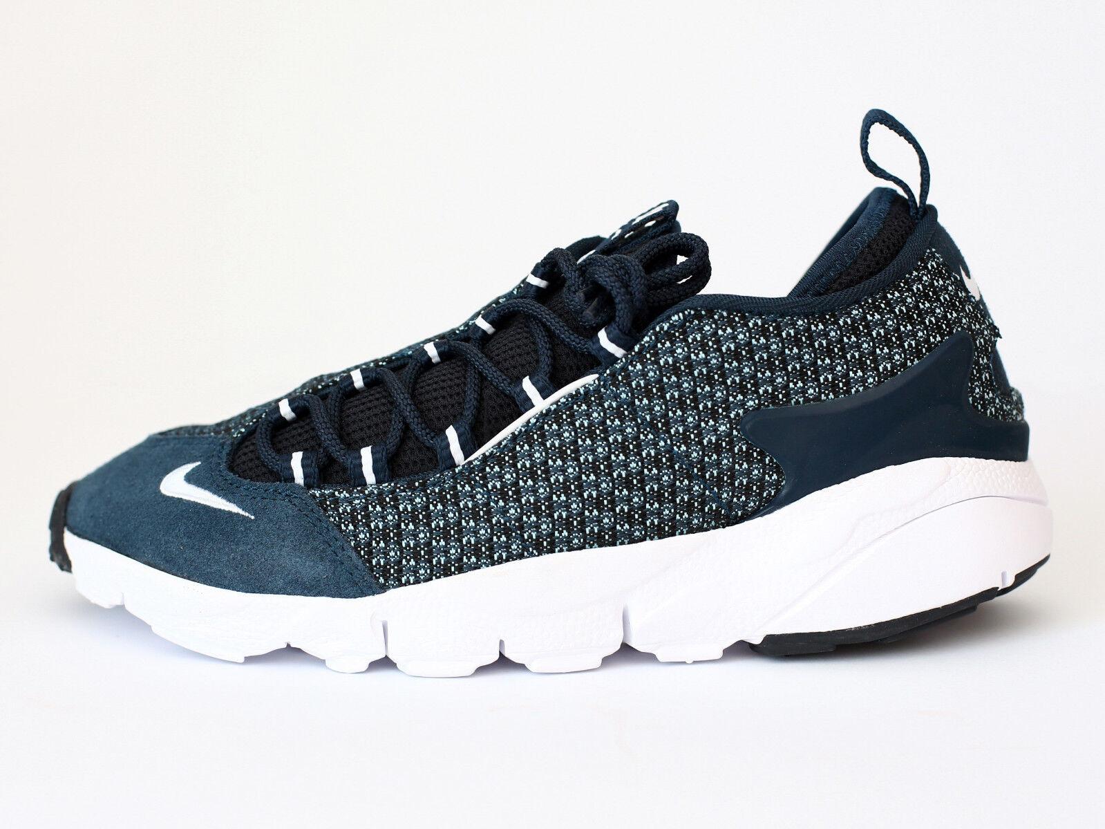Nike Air Footscape NM JCRD (898007-400) Herren Sneaker - Blau - Gr. 46 - Neu (S)
