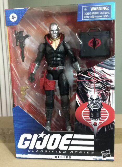 "GI Joe Classified Series Destro Cobra 6"" Figure #03 Hasbro Fast Ship NIB MINT"