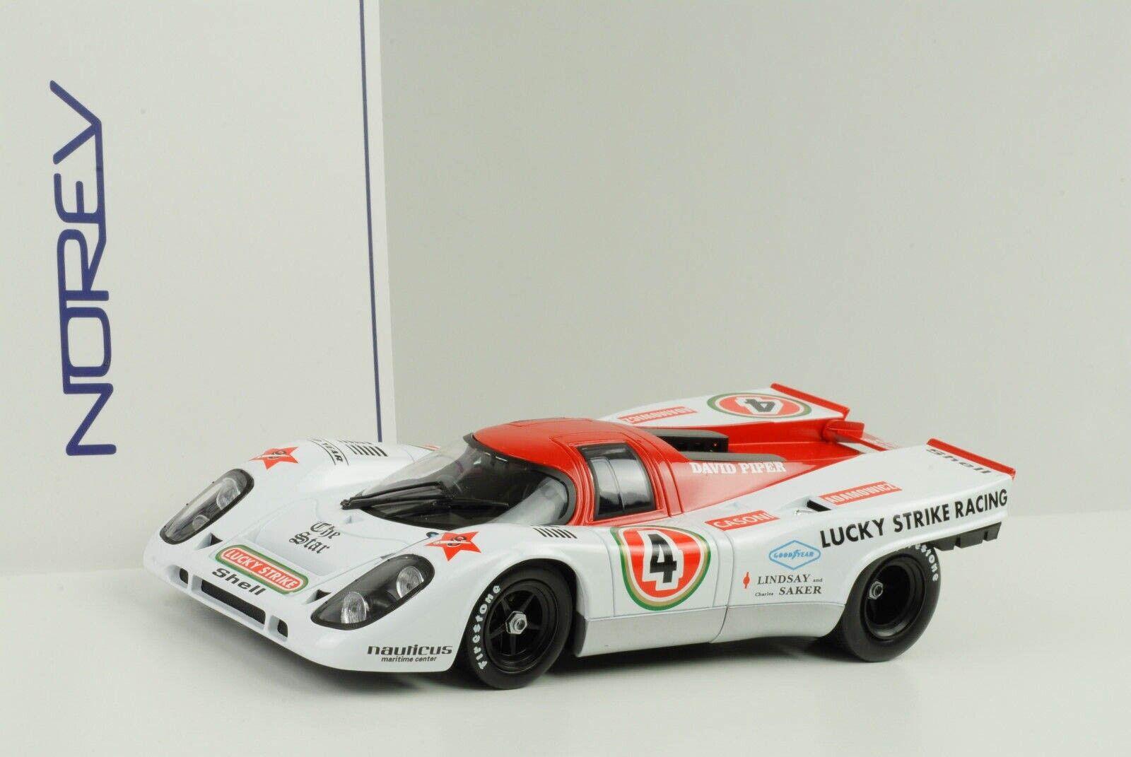 1971 Porsche 917k 917  18 9 H Kyalami David Piper Racing 1 18 Norev