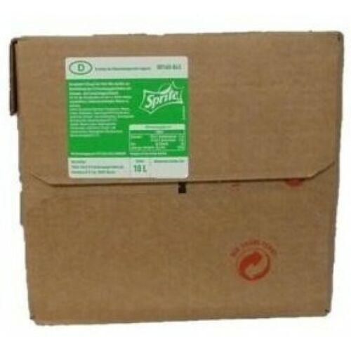 10l BiB Bag in Box Sirup MHD 21.04.2020 Postmix Sprite