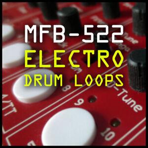 Mfb-522 Analogue Drum Machine Loops & échantillons-electro Hip Hop-ableton Logique-afficher Le Titre D'origine