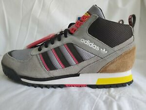 f43eb9f27 New 9.5 adidas Originals Men ZX TR MID Shoes Tech Grey Black Blaze ...