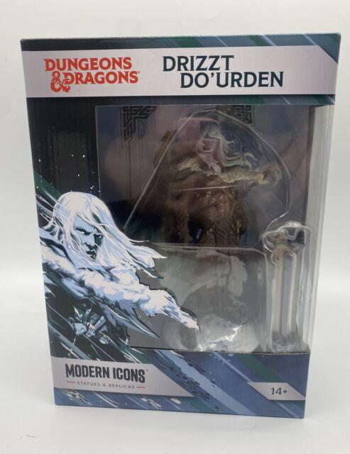 Drizzt Do'urden Modern Icons Premium Statue 12 Dungeons & Dragons NIB
