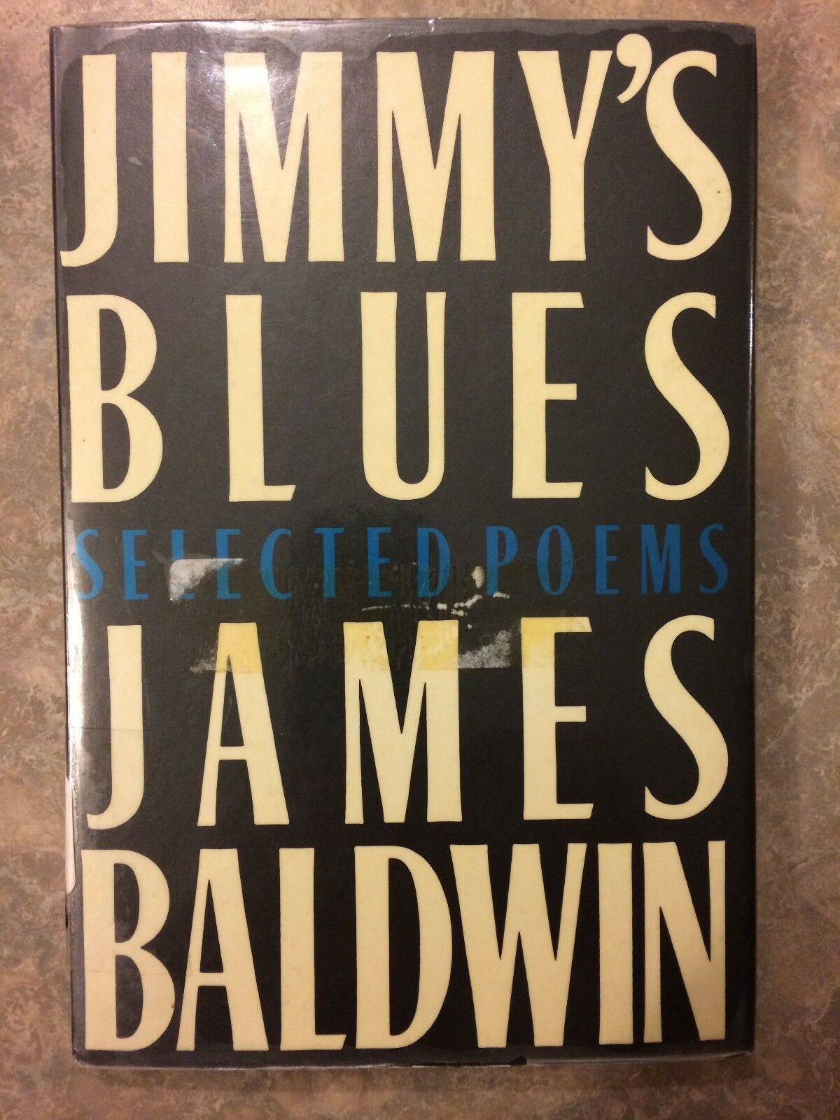 Jimmys Blues Selected Poems By James Baldwin 1986 Hardcover