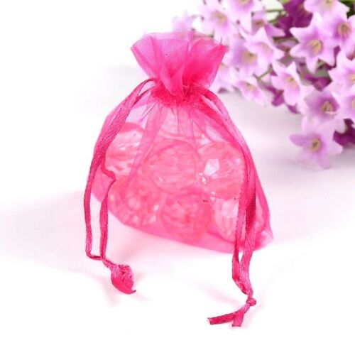 Organza Gift Bag Jewelry Pouch Wedding Lot 10//20//30//50 pcs 3X4 8x10 cm