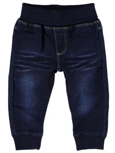 NAME IT weiche Sweat Denim Baby Jeans Hose Jungen Mädchen Sale Gr 50 bis 74 NEU
