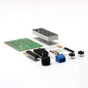 Digitale-4-Bit-elektronische-Uhr-Elektronische-Produktionssuite-Bausatz