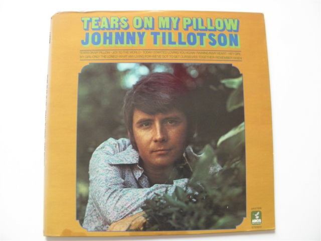 LP, Johnny Tillotson, Tears on my pillow, Lp fra 1969. USA…