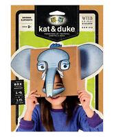 Kat & Duke Savanna Elephants Wild Animal Kingdom Series Nip Mask