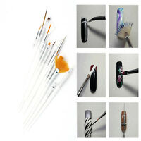 15 Pcs Nail Art Acrylic UV Gel Design Brush Set Painting Pen Tips Tools Pretty