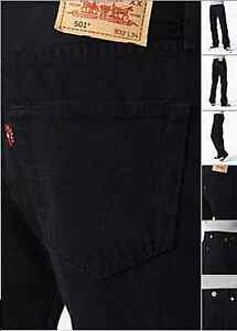 Levis Jeans Ref 501 005010165 Black 4dqdrw1