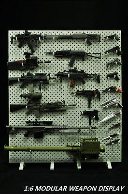 CAAZAA TOYS 1:6 Scale Modular Weapons Display Set(Weapons not included)