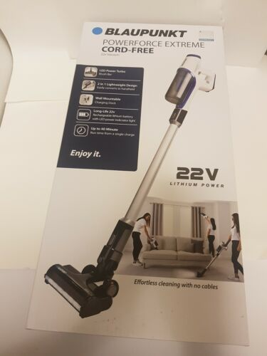 Blaupunkt Powerforce Extreme Cord-Free 22V Cordless Vacuum White New