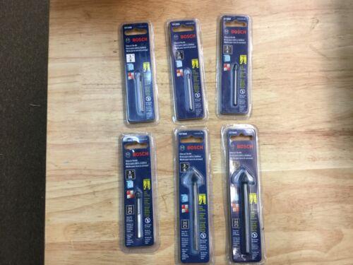 """Bosch Glass /& Tile Bit 6 Size Bundle 1//8/"""" 3//16/"""" 1//4/"""" 5//16/"""" 3//8/"""" 1//2/"""" GT100-GT600"""
