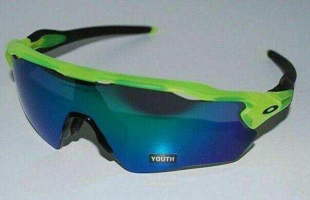 Auth Oakley Radar EV XS Youth UMM Frame Jade Lens Mens Sunglasses OJ90010231