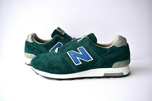 cheap for discount 15ff2 189c6 Details about New Balance 1400 Mens 12 D Suede Green Made in USA $200 C100