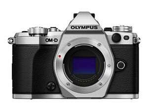 Olympus-OM-D-E-M5-Mark-II-16-1MP-Digital-Camera-Silver-Open-Box