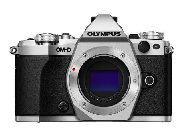 Olympus OM-D E-M5 Mark II 16.1MP Digital Camera - Silver (Open Box)