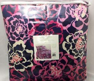 Vera-Bradley-Katalina-Pink-Reversible-Twin-XL-Comforter-amp-Sham-NWT