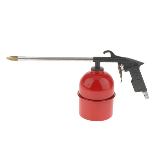 Air Power Oil Engine Cleaner Gun Hose Siphon Spray Solvent Clean Tool GRAY