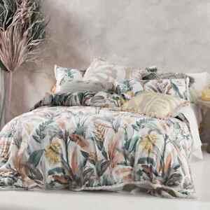 Linen-House-Habitation-Teal-Cover-Set-100-Cotton-Queen-King-Super-King