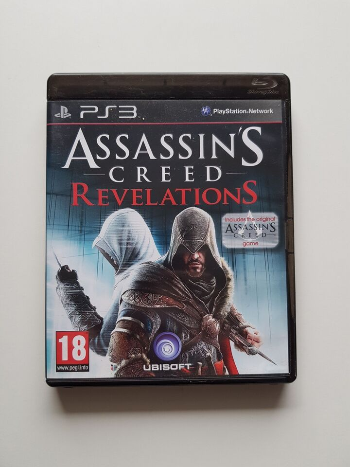 Assassins Creed Revelations, PS3